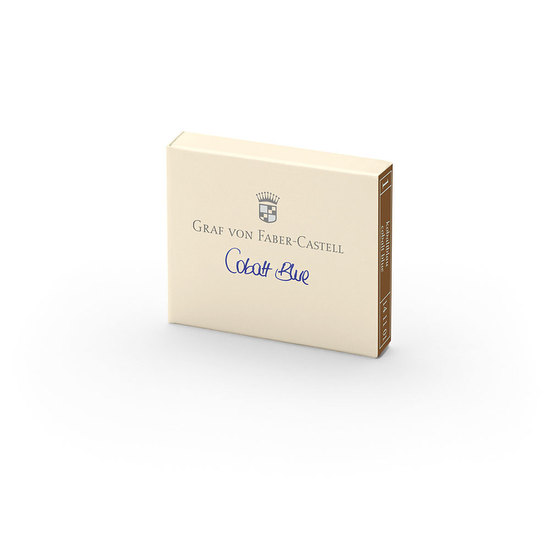 Graf Cobalt Blue Ink Cartridges - 1
