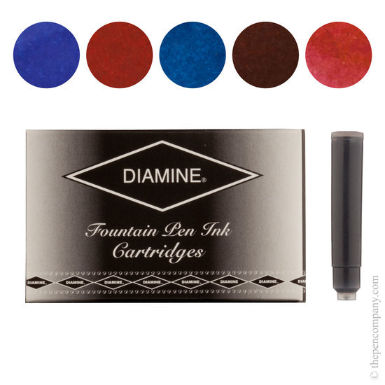 Diamine Sovereign Selection Fountian Pen Cartridges - 1
