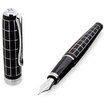 Diplomat Excellence Rhombus Black Fountain Pen Medium Nib Steel - 2