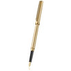 Sailor Chalana Fountain Pen Gold stripe with black trim - 1