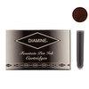 Diamine Chocolate Brown Fountain Pen Cartridges 18 Pack - 1