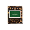 Diamine Emerald Green Fountain Pen Cartridges 6 Pack - 1