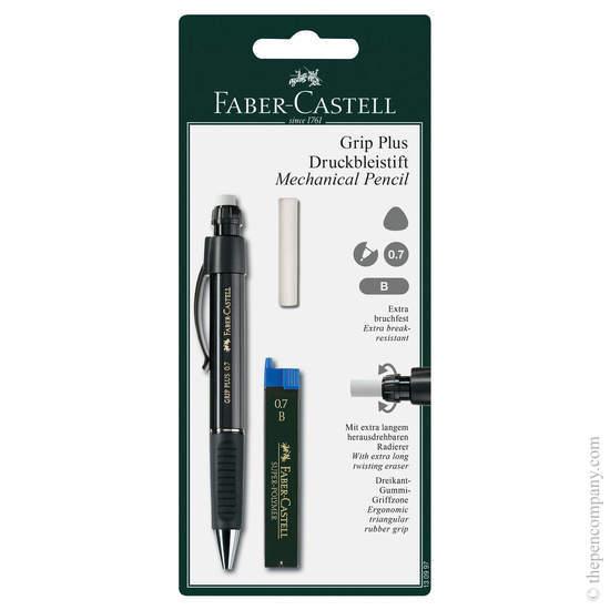 Black Faber-Castell Grip Plus Mechanical Pencil 0.7mm - 1