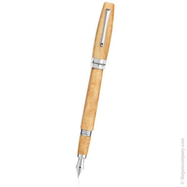 Caramel Gold Montegrappa Felicità Fountain Pen - Medium