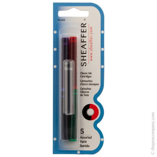 Sheaffer Skrip ink cartridges assorted colours
