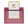 Mywalit Small Card Holder Sangria Multi - 5