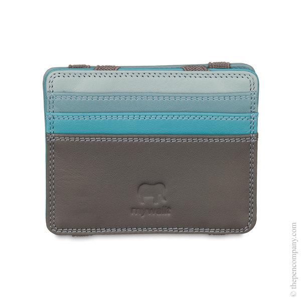 Smokey Grey Mywalit Magic Wallet Card Holder