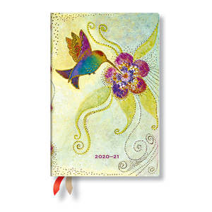 Paperblanks Hummingbird Whimsical Creations Academic Diary Mini