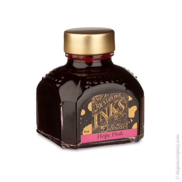 Hope Pink Diamine Bottled Fountain Pen Ink 80ml