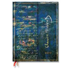 Paperblanks Ultra Week-to-view Monet Water Lilies 2017 Diary - 1