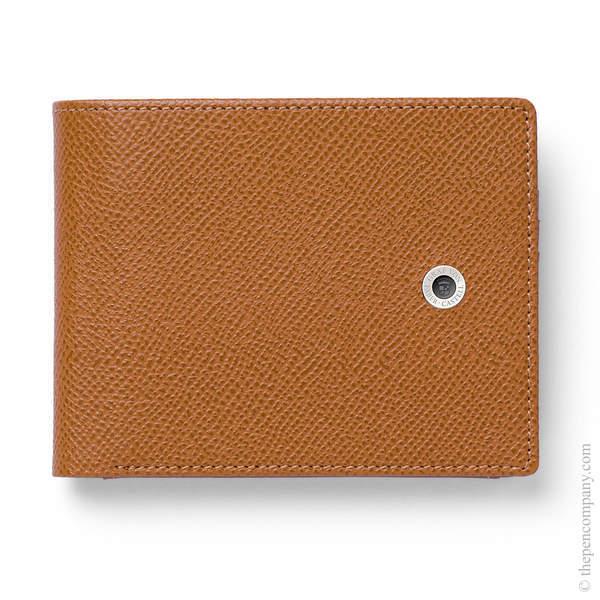 Cognac Graf von Faber-Castell Epsom Wallet with Coin Purse Large