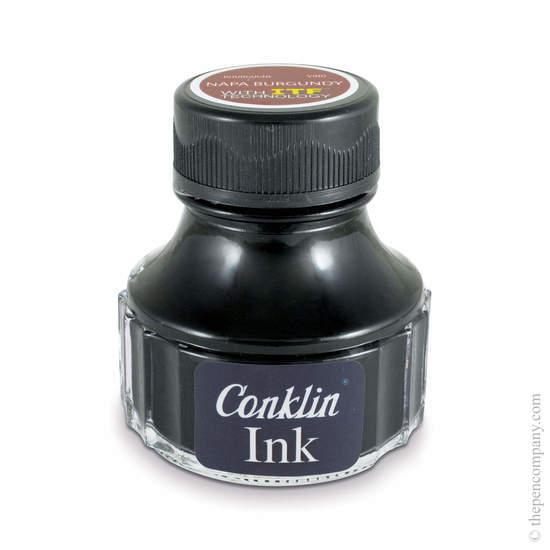 Napa Burgundy Conklin Fountain Pen Ink - 1
