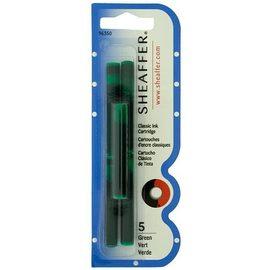 Sheaffer Skrip Fountain Pen Ink Cartridges Green - 1