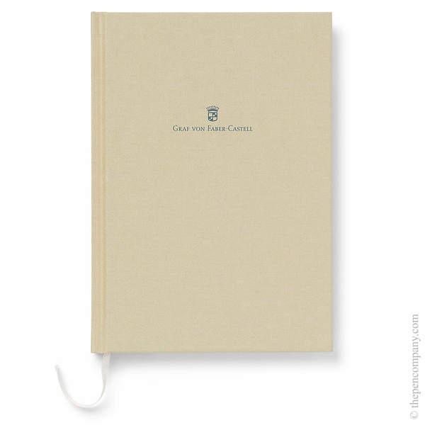 A5 Golden Brown Graf von Faber-Castell Linen Notebook Journal