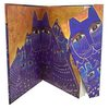 Paperblanks Mediterranean Cats Lined Journal Laural Burch - 2