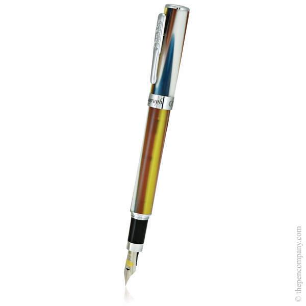 Tropical Blend Conklin Stylograph Matte Fountain Pen - Medium