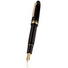 Black/Gold Sailor 1911 Naginata Cross-point Fountain Pen - Cross-point Nib - 2