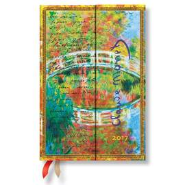 Paperblanks Mini Week-to-view Monet Bridge 2017 Diary - 1