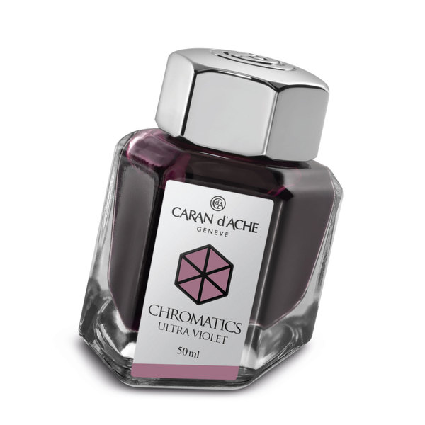 Ultra Violet Caran d'Ache Bottled Chromatics