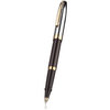 Sheaffer Sagaris rollerball pen black/chrome with gold trim - 2