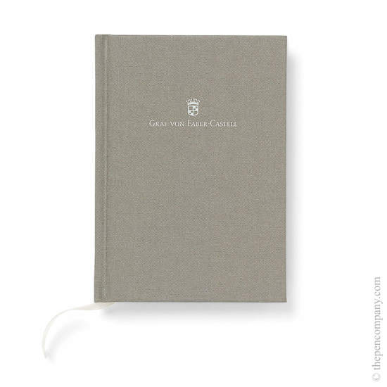 Grey A6 Graf von Faber-Castell Linen Notebook Journal - 1
