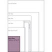 Micro Paperblanks diary size diagram