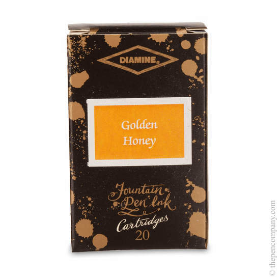 Golden Honey Diamine 150th Anniversary Ink Cartridges - 1