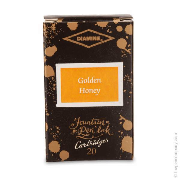 Golden Honey Diamine 150th Anniversary Ink Cartridges Ink Cartridges