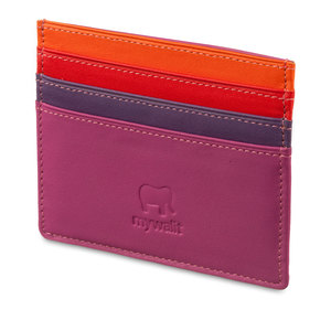Mywalit Small Card Holder Sangria Multi - 1