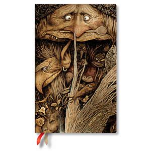 Paperblanks Mischievous Creatures Faerieland Flexi Academic Diary Maxi