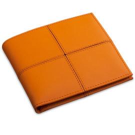 Markiaro Leather Wallet Orange - 1