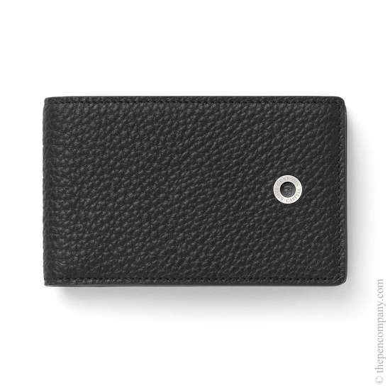 Black Graf von Faber-Castell Wallet with Coin Purse Small - 1