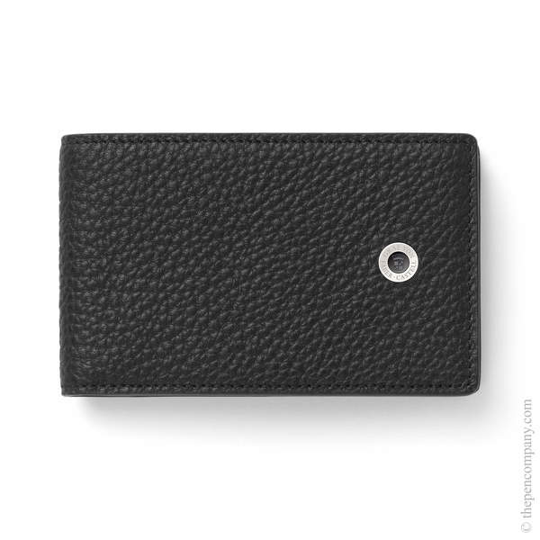 Black Graf von Faber-Castell Cashmere Wallet with Coin Purse Small