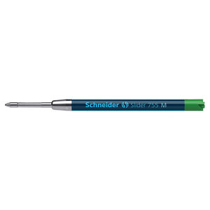 Green medium Schneider 755 refill - 1