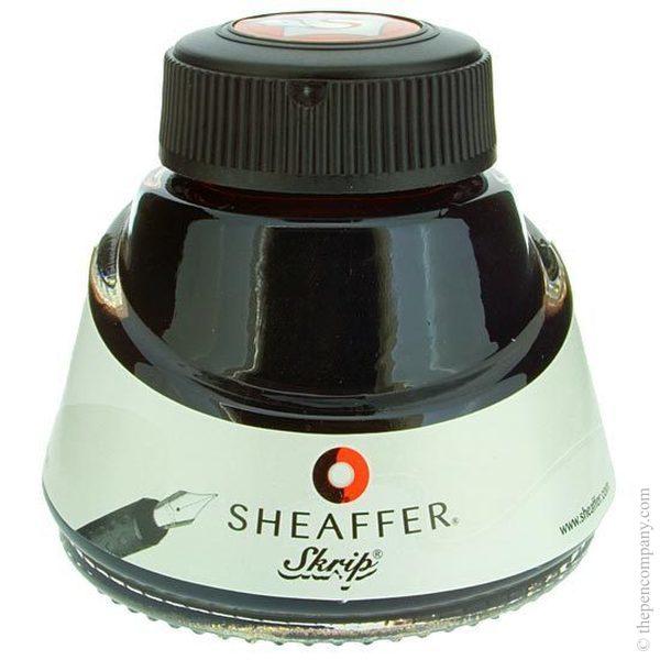 Brown Sheaffer Bottled Skrip Fountain Pen Ink