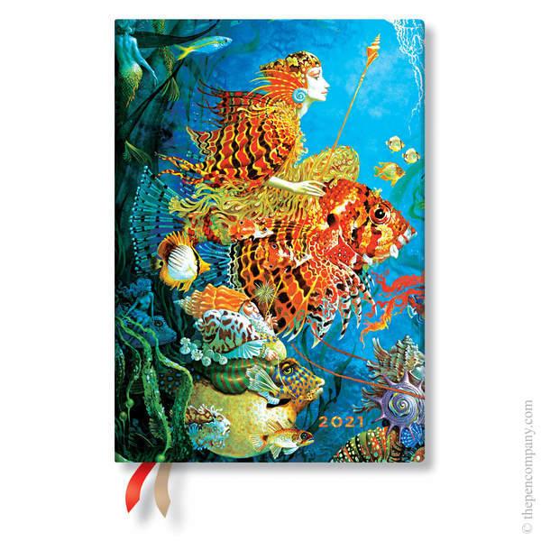 Midi Paperblanks Fantastic Voyages 2021 Diary 2021 Diary
