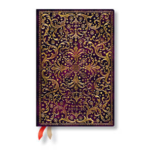 Mini Paperblanks Aurelia 2019-2020 18 Month Diary Horizontal Week-to-View - 1