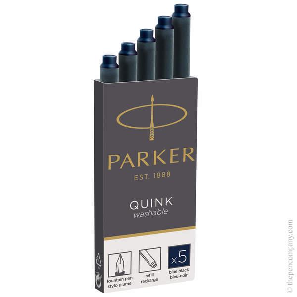 Blue-Black Parker Long Ink Cartridges