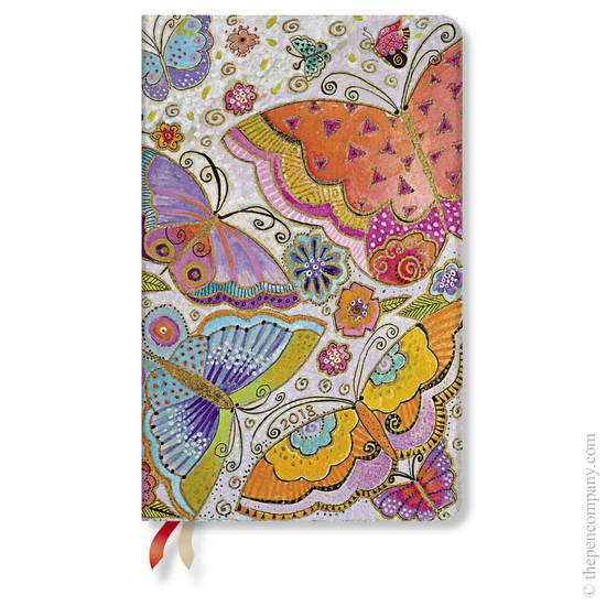 Maxi Laurel Burch Flutterbyes 2018 Diary Vertical Week-to-View - 1