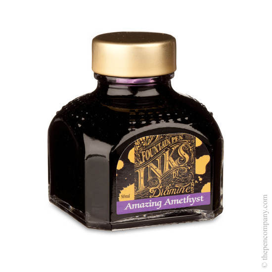 Diamine Amazing Amethyst Fountain Pen Ink 80ml - 1