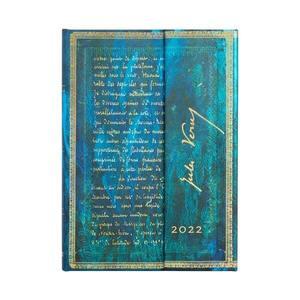 Paperblanks Embellished Manuscripts 2022 Diary 2022 Diary Midi Verne, Twenty Thousand Leagues - 3