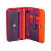 Mywalit Full Flap Multicomp Shoulder Clutch Bag Sangria Multi - 3
