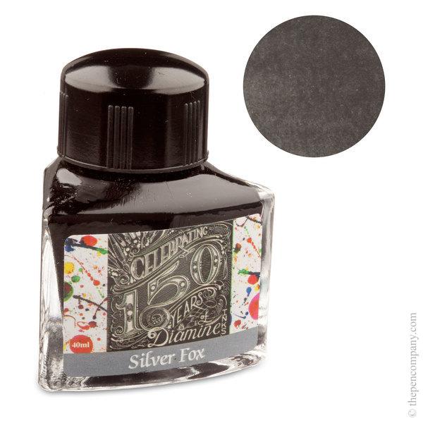 Silver Fox Diamine Bottled 150th Anniversary Ink