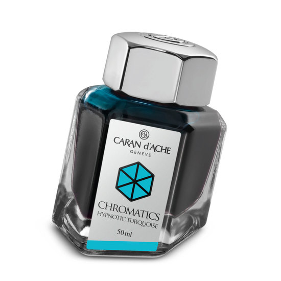 Caran d'Ache Chromatics Ink - Hypnotic Turquoise - 1