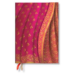 Paperblanks Gulabi Varanasi Silks & Saris 2021 Diary Midi