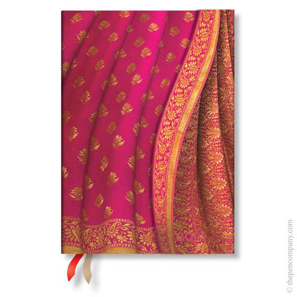 Midi Paperblanks Varanasi Silks & Saris 2021 Diary 2021 Diary