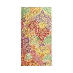 Paperblanks Bavarian Wild Flower Brocaded Paper 2022 Diary Slim - Front