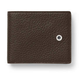 Dark Brown Graf von Faber-Castell Cashmere Leather Wallet - 1