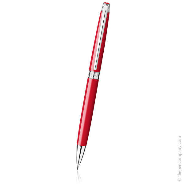 Scarlet Red Caran d Ache Léman Slim Mechanical Pencil