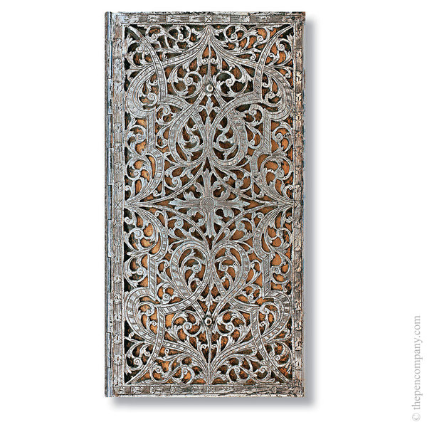 Slim Paperblanks Silver Filigree Address Book Address Book
